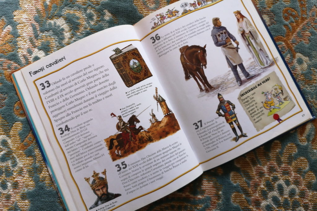 libri per bambini si castelli e cavalieri