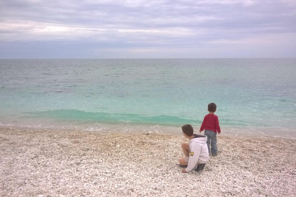 Il mare cristallino della riserva del monte Conero