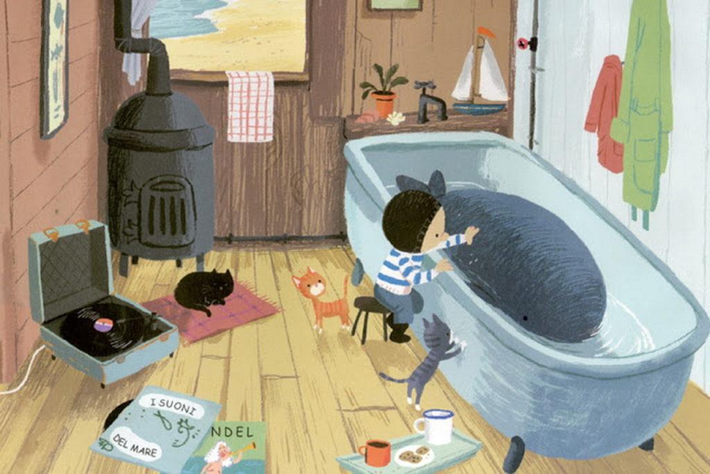 libro che parla del tema della solitudine in un bambino. Libri sul mare