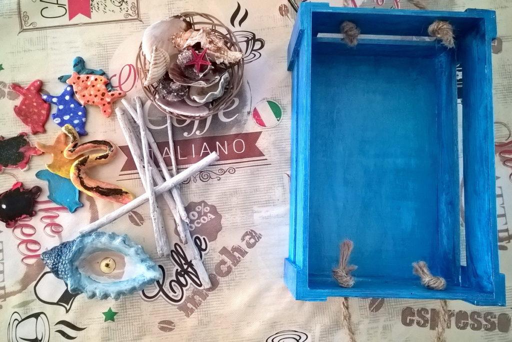 Come creare una scatola dei ricordi del mare con i bambini