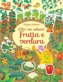 Libri adesivi: frutta e verdura