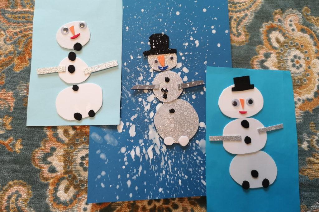 kit per costruire pupazzi di neve