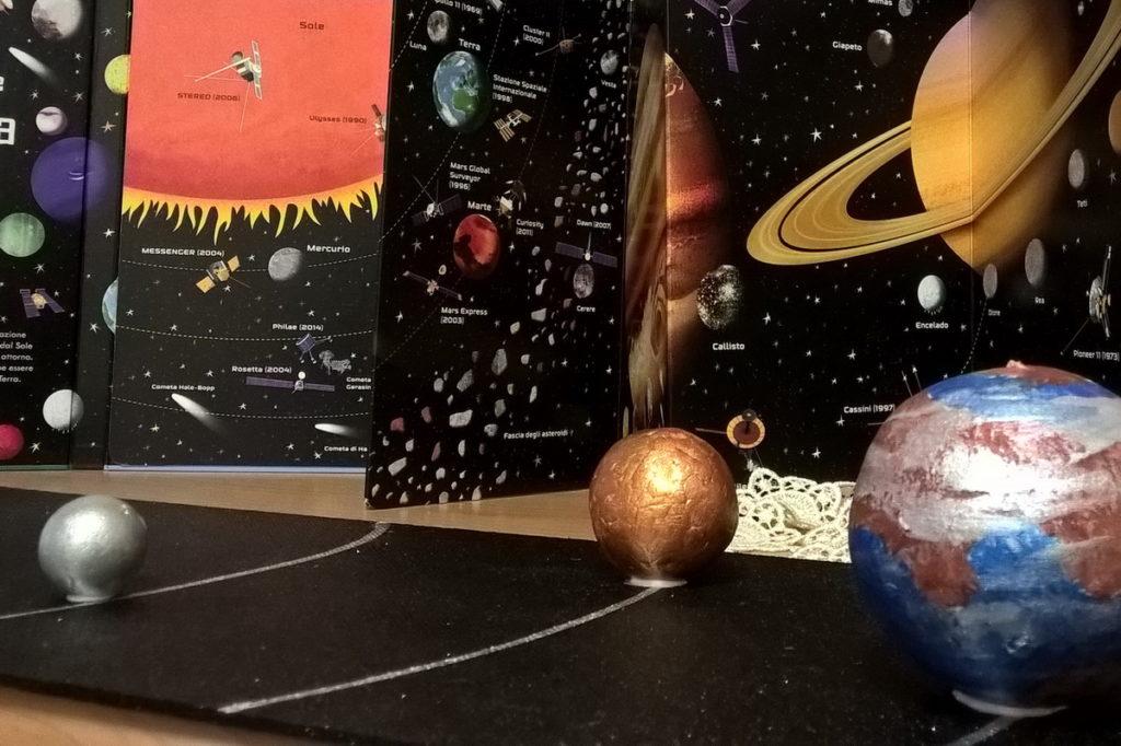 sistema solare 3d per bambini