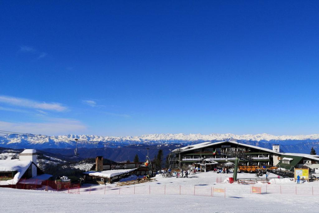 alpe cermis per sciare in famiglia in trentino