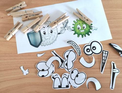 idee creative per parlare dei microbi ai bambini