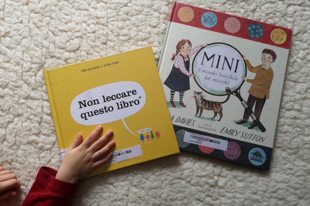 libri per bambini che parlano del coronavirus