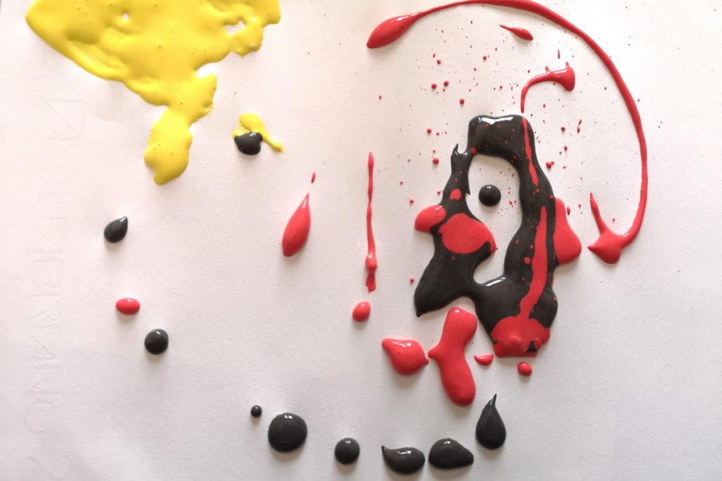Pittura 3d per bambini ricette e idee