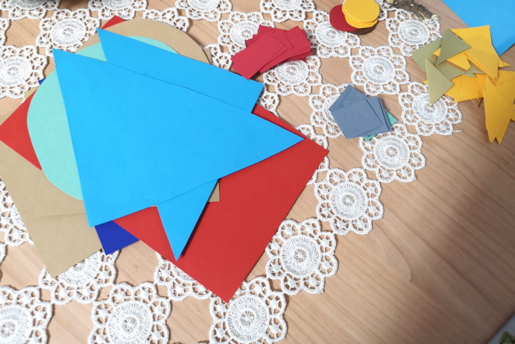 creare con le forme geometriche
