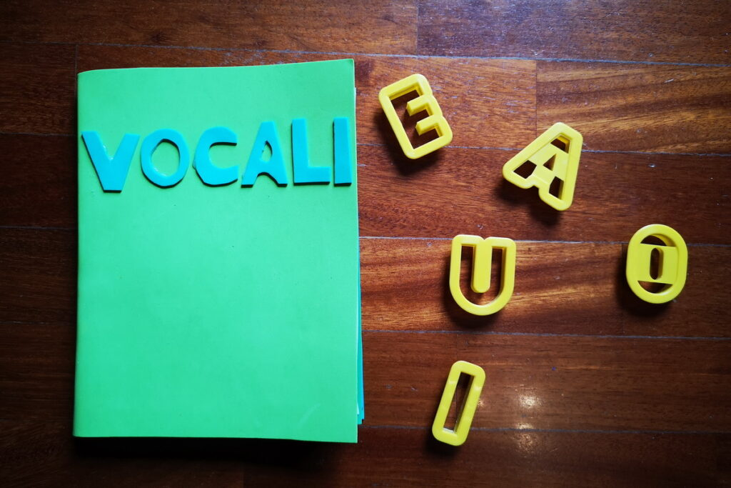 lapbook sulle vocali