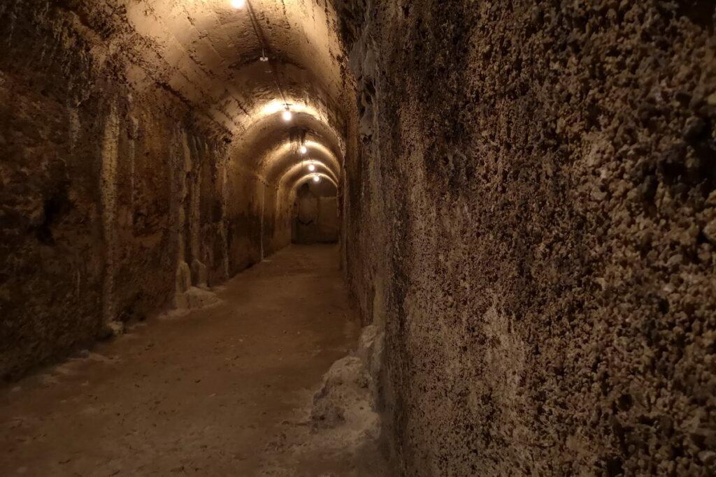 visitare un acquedotto e serbatoio romano