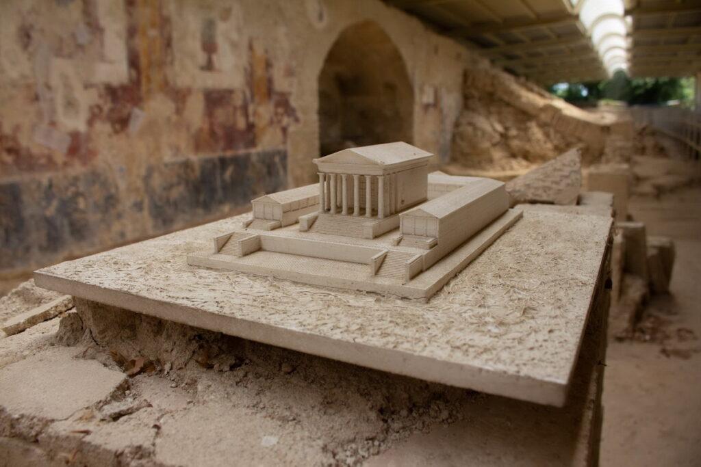Il tempio romano di urbisaglia per bambini