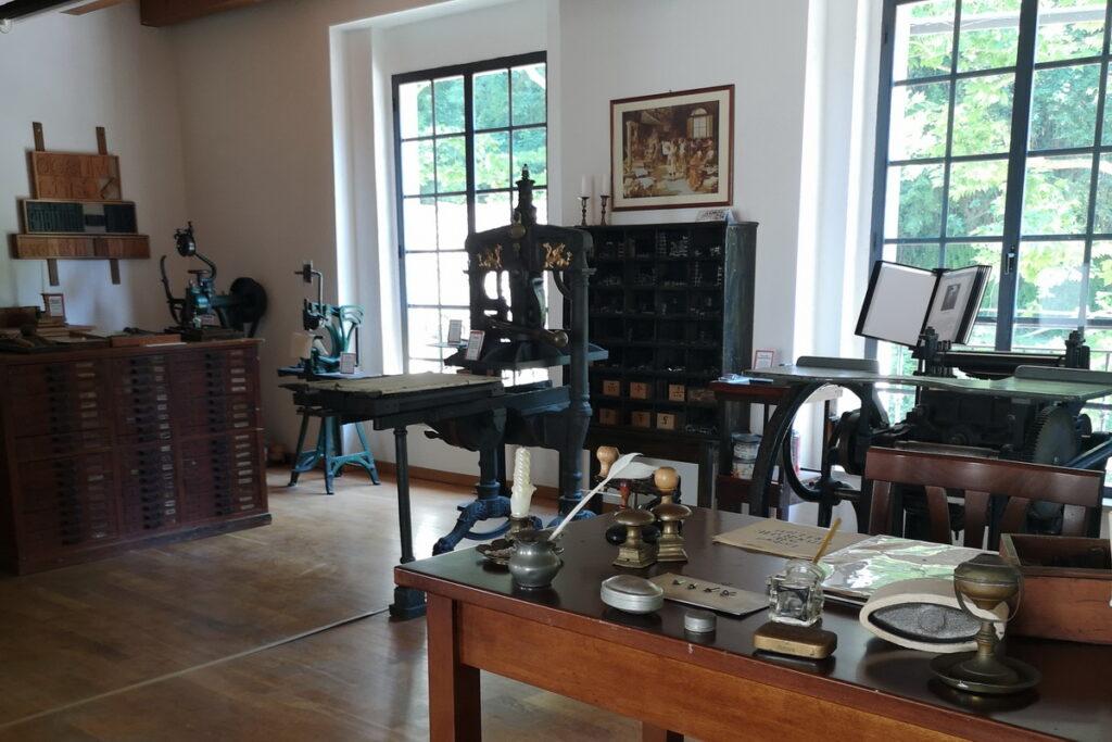 Un museo dedicato alla storia della tipografia