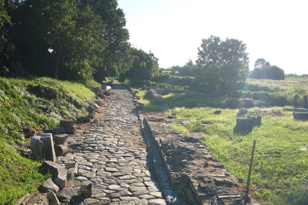 Dove vedere una strada romana