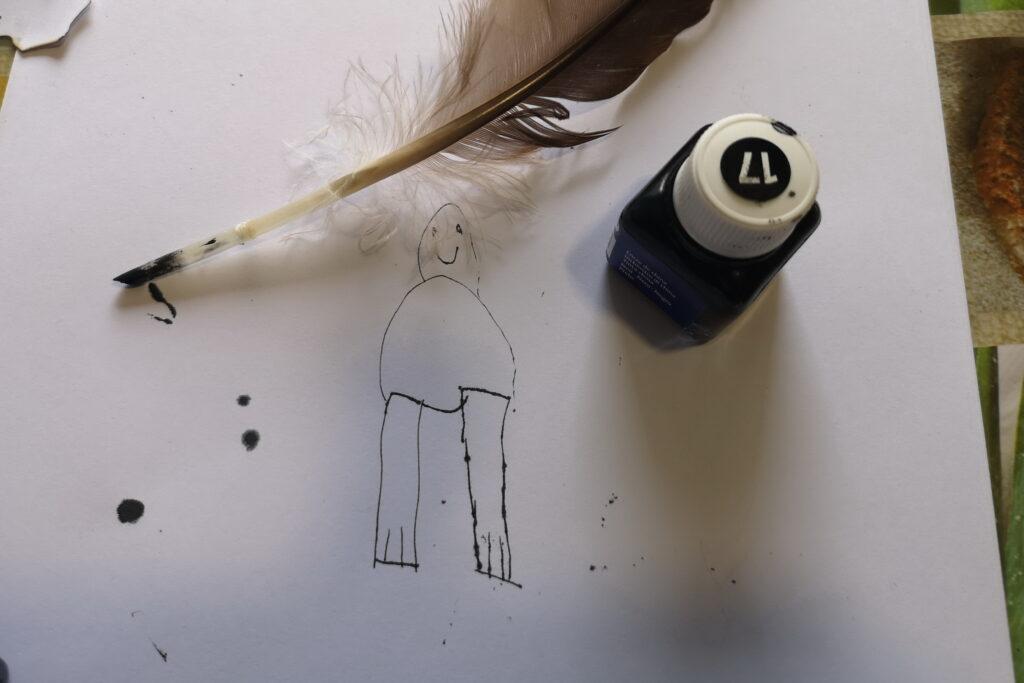 Laboratorio per bambini: pergamene e penne d'oca