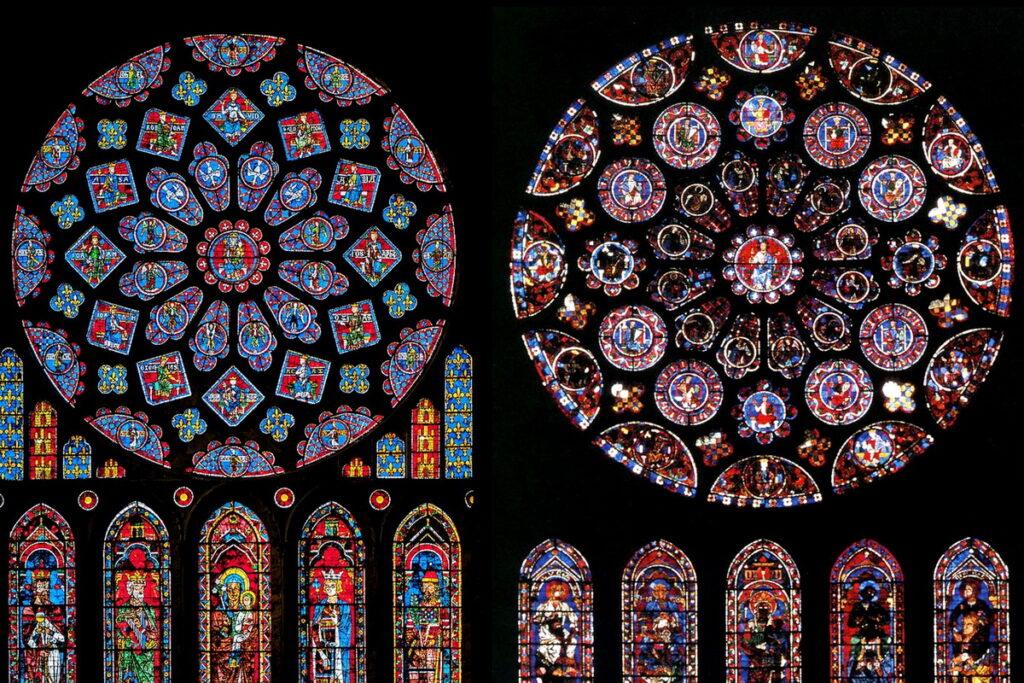 Come fare delle vetrate gotiche con i bambini