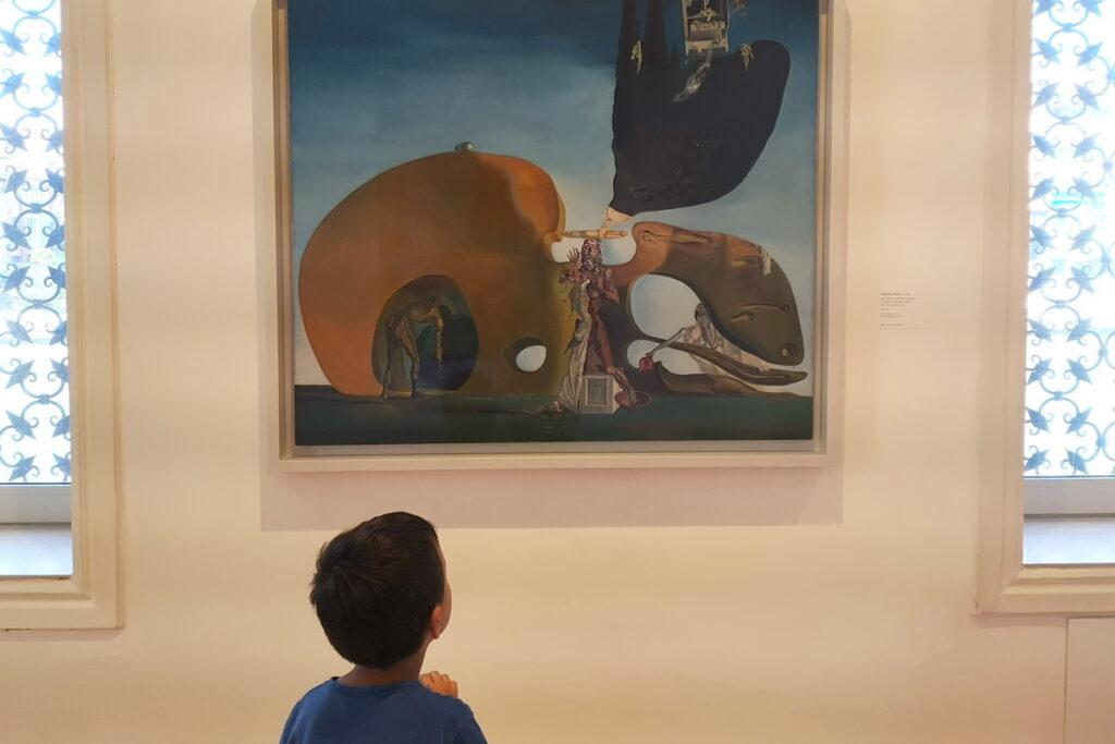 visitare il Peggy Guggenheim con i bambini