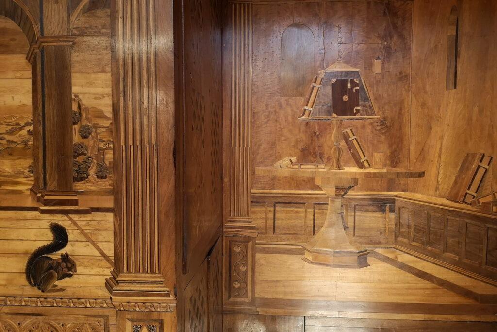 lo studiolo di Federico da Motefeltro a Urbino
