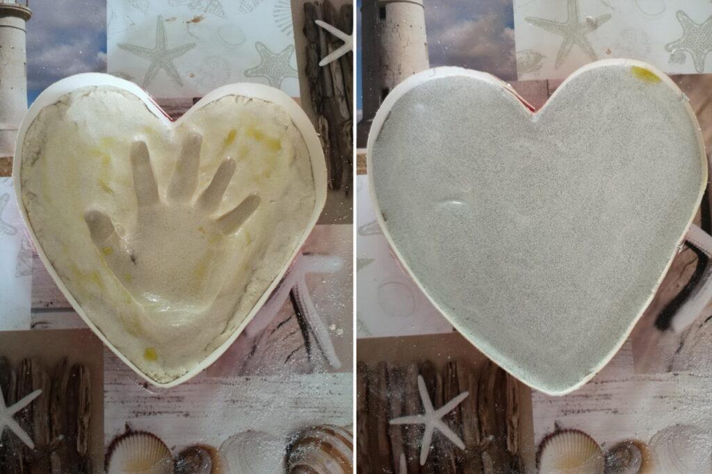 impronte piene d'amore per i nonni