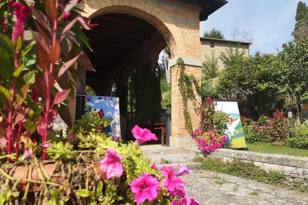 La casa di Giotto a Vicchio (FI) mugello con i bambini